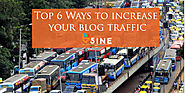 Ways to improve the blog traffic |
