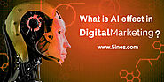 What is AI effect in Digital Marketing?