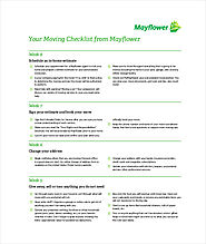 Complete Moving Checklist