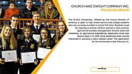 Church and Dwight Company INC. FFA Scholarship