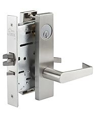 PDQ MR176 mortise lock, non-cylinder-privacy function | Mortise Locksets | Amazing Doors & Hardware, LLC