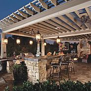 arbor|outdoor living |outdoor kitchen |PERGOLAS COVERED PATIOS