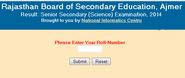 rajresults.nic.in Rajasthan Board 12th Science Result 2014, Check Here