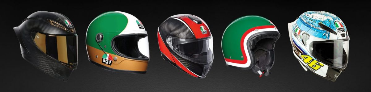 Headline for Coolest AGV Helmets: Official AGV List VS. My own personal list
