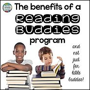 The benefits of a Reading Buddies program - That Fun Reading Teacher