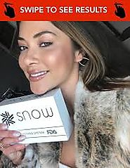 Snow Teeth Whitening Reviews – Experience super-efficient Snow Teeth Whitening kit at your Home – Snow Teeth Whitenin...