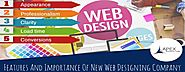 Features And Importance Of New Web Designing Company - Apex Infotech Blog - Apex Infotech India