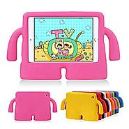 Lioeo iPad Mini Case for Kids iPad mini 4 Case with Handle Stand Shock Proof Cover Lightweight EVA Foam Protective Ca...