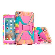 Aceguarder Apple Ipad Mini 1&2&3 Case Waterproof Rainproof Shockproof Kids Proof Case for Ipad Mini 2 Mini 1&2(gifts ...