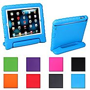 iPad Mini Case,AGRIGLEER [Kids Series]Shock Proof Convertible Handle Light Weight Super Protective Stand Cover Case f...