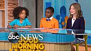 Children discuss whether homework should be banned live on 'GMA'
