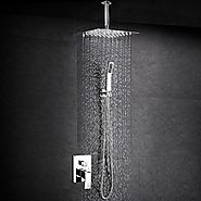 Top 10 Best Ceiling Mounted Rainfall Shower Head Reviews on Flipboard | Lori's Deals