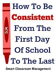 There is great freedom in consistency. Because when you follow your classroom management plan to a tee, you remove th...