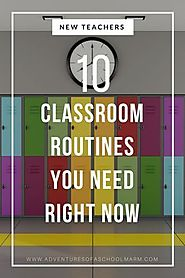 10 Classroom Routines You Need Immediately | Classroom routines, Routine and Students