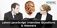 Latest Javascript Interview Questions & Answers