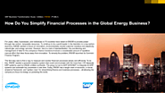 ENGIE: How Do You Simplify Financial Process in the Global Energy Business?