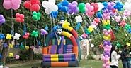 Balloons and decorations will make your event successful