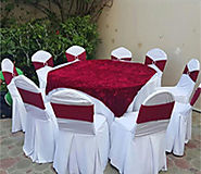 Contact A Party Rental Company To Take Tables & Chairs On Rent!