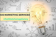 ICO Marketing Company  | Block chain App Factory
