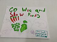 "Tari Phares on Twitter: ""#CATCHMVP One of my first grade students wrote and illustrated a book about healthy eating. ..."