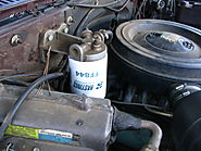 Change the fuel filter: