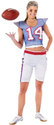 Amazon.com: Football Player Girl Costume: Clothing