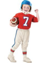 Toddler Boys Lil Quarterback Football Costume- Party City