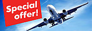 Save Biggest Offers of cheap filights airline tickets and last minute flight deals