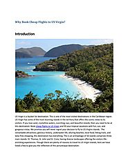 Why book cheap flights to us virgin by OpusTravels - issuu