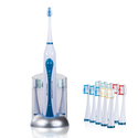Health HP-STX Ultra High Powered Sonic Electric Toothbrush with Dock Charger & 10 Brush Heads (Value Pack)