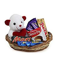 Buy/Send Basket of Love - YuvaFlowers