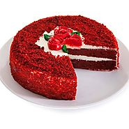 Order/Send Red Velvet Cake Online - YuvaFlowers.com