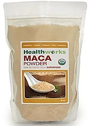 Healthworks Maca Powder Raw Organic, 8 Ounce