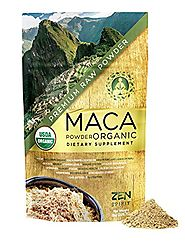 Maca Powder Organic Peruvian Premium Grade Superfood (Raw)- USDA & Vegan Certified - 226.7g (8oz) - Perfect for Break...