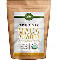 #1 Maca Powder, Organic From Maca Root - Purest Premium Vegan Superfood, USDA Certified and Gelatinized from Raw, Bet...
