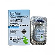Buy Hucog 5000 IU Injection - HCG 5000IU Injection