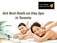 Get Best Deals on Day Spa in Toronto