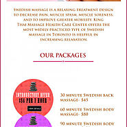 Swedish Massage at King Thai Massage Health Care Center, Toronto | Visual.ly