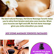Hot Stone Massage Toronto - The Best Natural Therapy | Visual.ly