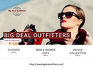 Big Deal Outfitters fashion clothing shop for men and women