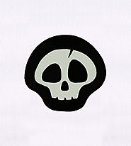 Artistically Creative Cracked Skull Embroidery Design | EMBMall
