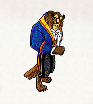 Beauty and the Beast Prince Embroidery Design | EMBMall