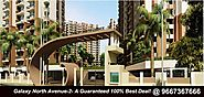 Galaxy North Avenue 2 offers pleasant and soothing Spaces – Gaur City 2 – Galaxy Poject