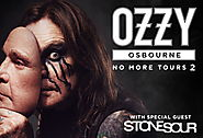 Ozzy Osbourne -- Thursday, October 11 at 7:30PM