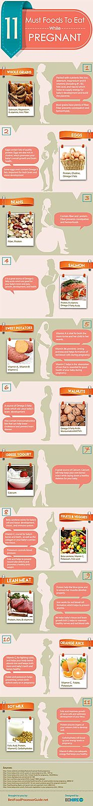 Foods to Eat While Pregnant