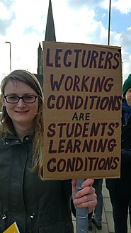 "Ashley R. Bullard on Twitter: ""Favourite sign at the @leedsucu picket today. #USSstrike… """