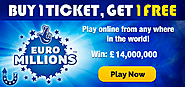 Play EuroMillions Online | Buy EuroMillions Tickets Online | CleverLottery.com