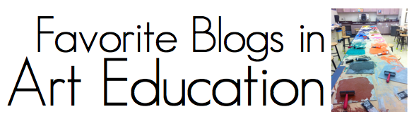 Headline for Favorite Art Education Blogs