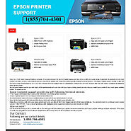Epson Printer Support Phone Number+1(855)704-4301 | Visual.ly